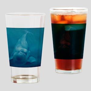 Beluga Smile Drinking Glass