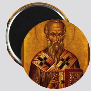 Saint Alexander Icon Magnets