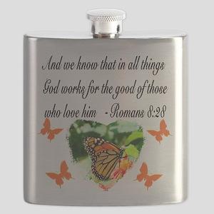 ROMANS 8:28 VERSE Flask