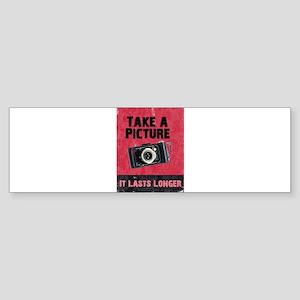 Take a Picture Bumper Sticker