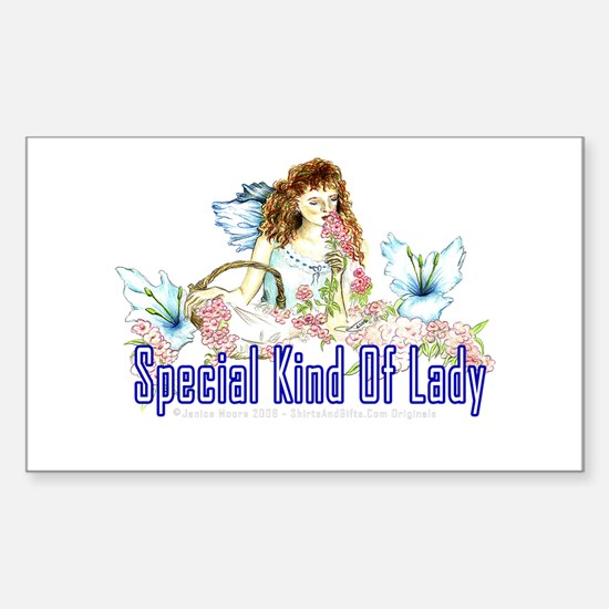 Special Kind of Lady Sticker (Rectangle)
