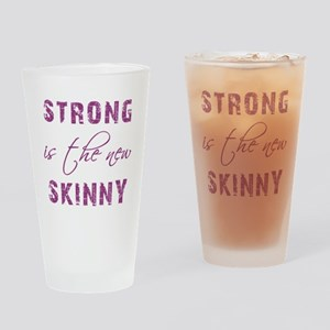 STRONG IS... Drinking Glass