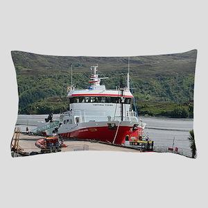 Fish carrier ship, Scotland Pillow Case
