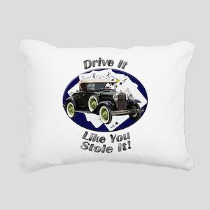 Ford Model A Rectangular Canvas Pillow