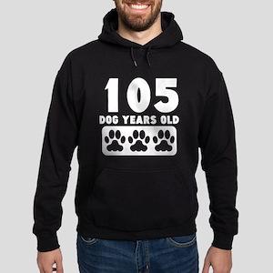 105 Dog Years Old Hoodie