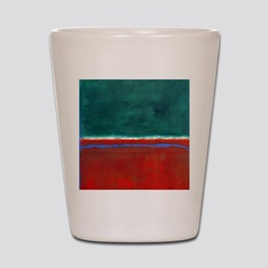 ROTHKO CHRISTMAS Shot Glass