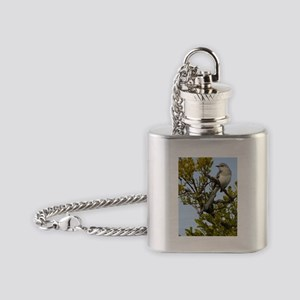 Mockingbird Flask Necklace