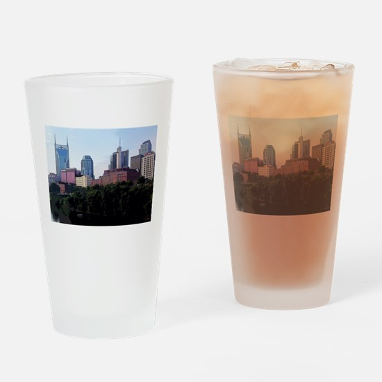 The Bat and Friends Drinking Glass