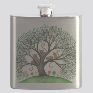 Malheur Stray Cats Flask