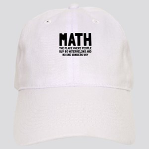 Math 80 watermelons Cap