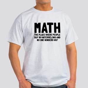 Math 80 watermelons Light T-Shirt