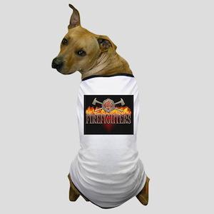 Firefighters 1 Dog T-Shirt
