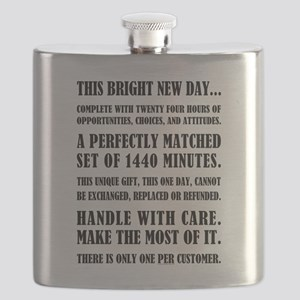 THIS BRIGHT NEW DAY Flask