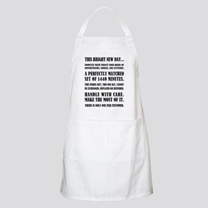 THIS BRIGHT NEW DAY Apron
