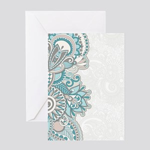 Ornate Pattern Greeting Cards