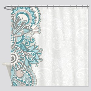 Ornate Pattern Shower Curtain