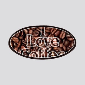 I Love Coffee, Coffee Beans Patch