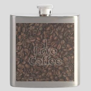 I Love Coffee, Coffee Beans Flask