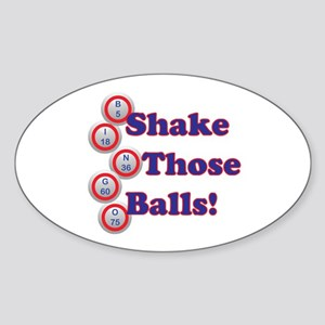 Bingo Shake Sticker