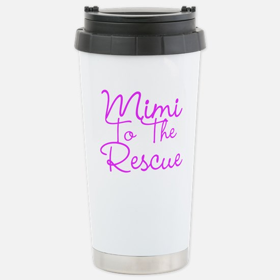 Mimi To The Rescue Travel Mug
