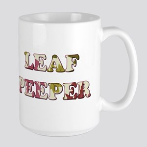 LEAF PEEPER Mugs