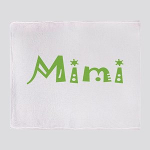 Mimi Party Throw Blanket