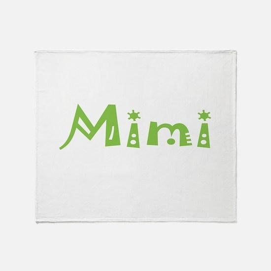 Mimi Party Throw Blanket