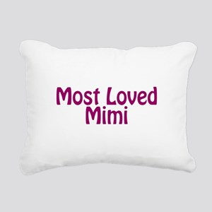 Most Loved Mimi Rectangular Canvas Pillow