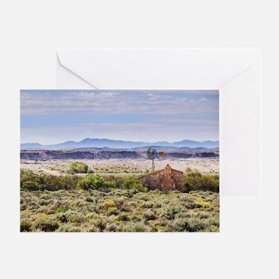 Outback South Australia (Leigh Creek Greeting Card