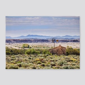Outback South Australia (Leigh Cree 5'x7'Area Rug