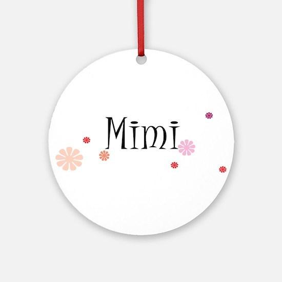 Mimi Retro Round Ornament