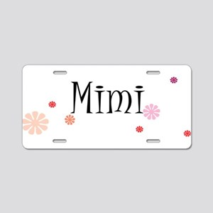 Mimi Retro Aluminum License Plate