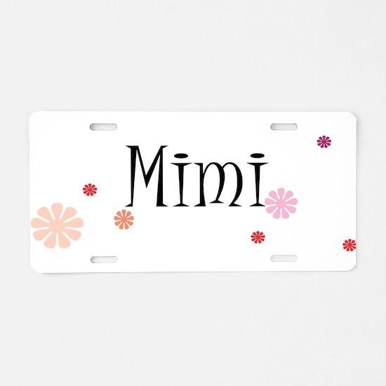Mimi Retro Aluminum License Plate