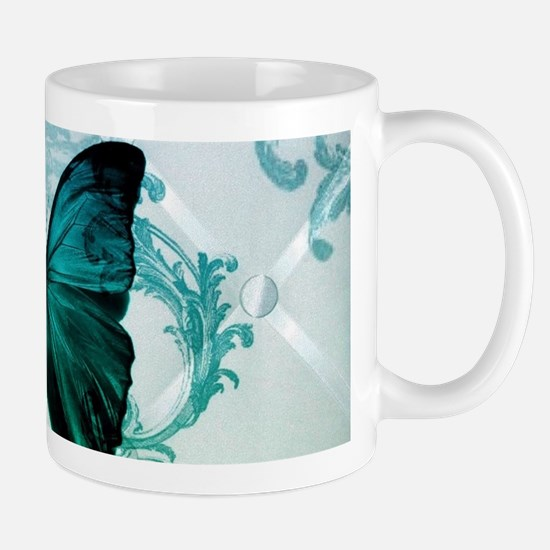 cute hipster girly butterfly Mugs