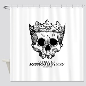 full of scorpions Shower Curtain