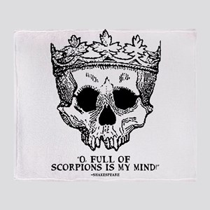 full of scorpions Throw Blanket