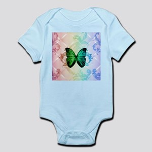 cute hipster girly butterfly Body Suit