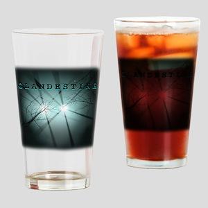 Clandestine dark Drinking Glass