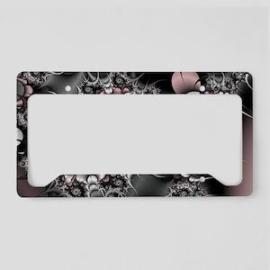 Widow's Web Fractal License Plate Holder