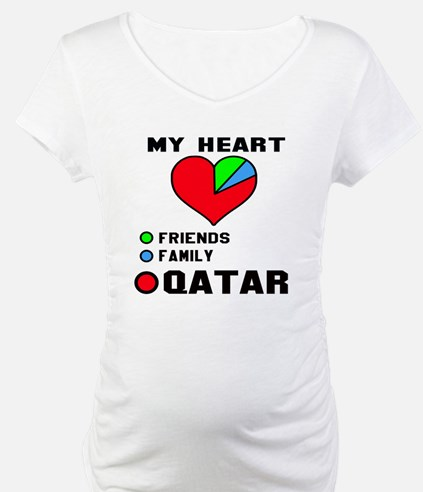 My Heart Friends, Family and Qat Shirt