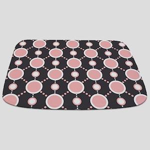 Pink Circles Bathmat