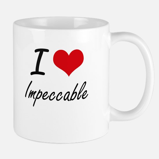 I Love Impeccable Mugs