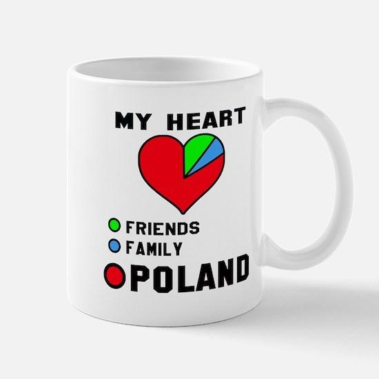 My Heart Friends, Family and Pol Mug