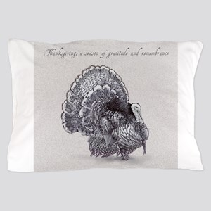 Thanksgiving Tom Turkey Pillow Case