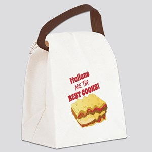 Italian Cooks Canvas Lunch Bag