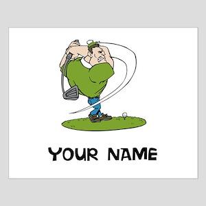Cartoon Golfer Posters