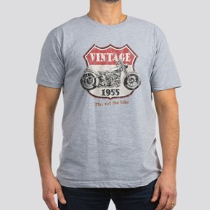 Vintage (your year) Men's Fitted T-Shirt (dark)