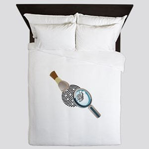 Fingerprint Queen Duvet
