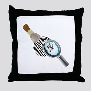 Fingerprint Throw Pillow