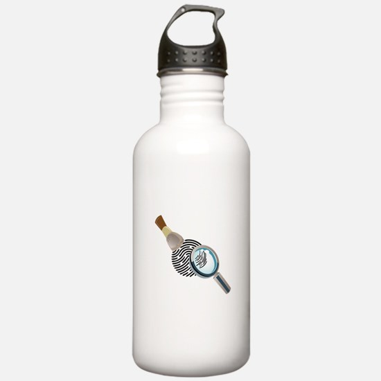 Fingerprint Water Bottle